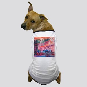 Downtown Cincinnati Dog T-Shirt