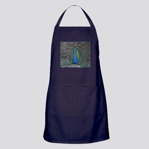 Peacock Photo Apron (dark)