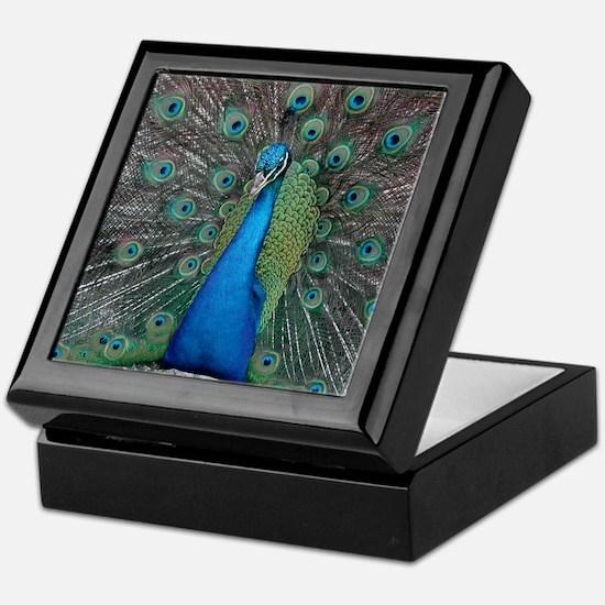 Peacock Keepsake Box