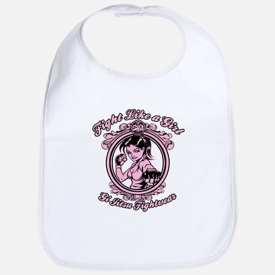 Fight Like A Girl Bib