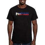 Philippines (Filipino) Men's Fitted T-Shirt (dark)