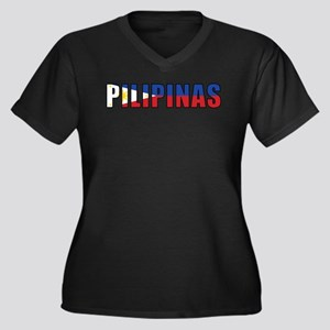 Philippines (Filipino) Women's Plus Size V-Neck Da