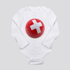 Switzerland World Cup Ball Long Sleeve Infant Body