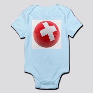 Switzerland World Cup Ball Infant Bodysuit