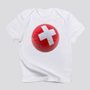 Switzerland World Cup Ball Infant T-Shirt