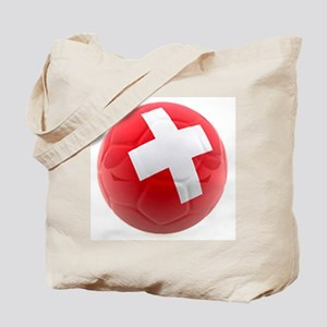 Switzerland World Cup Ball Tote Bag