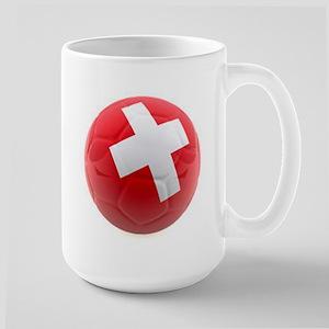 Switzerland World Cup Ball Large Mug