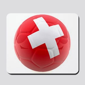 Switzerland World Cup Ball Mousepad