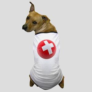 Switzerland World Cup Ball Dog T-Shirt