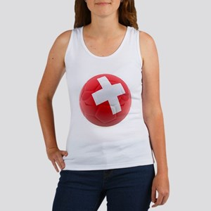 Switzerland World Cup Ball Women's Tank Top