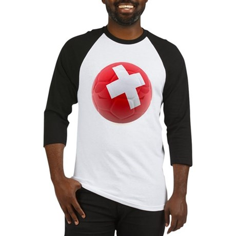Switzerland World Cup Ball Baseball Jersey