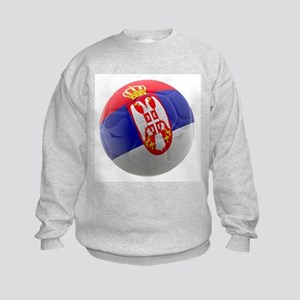 Serbia World Cup Ball Kids Sweatshirt