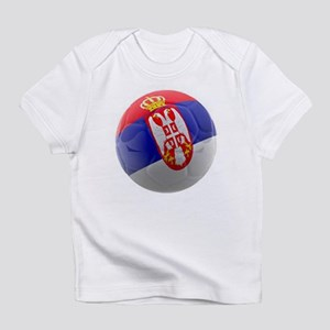 Serbia World Cup Ball Infant T-Shirt