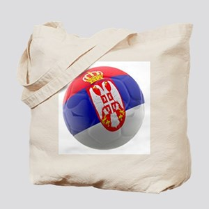 Serbia World Cup Ball Tote Bag