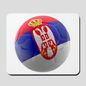 Serbia World Cup Ball Mousepad