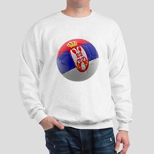 Serbia World Cup Ball Sweatshirt