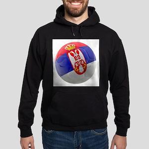 Serbia World Cup Ball Hoodie (dark)