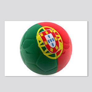 Portugal World Cup Ball Postcards (Package of 8)