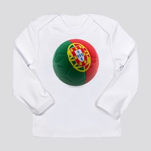 Portugal World Cup Ball Long Sleeve Infant T-Shirt