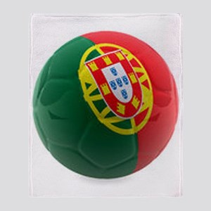 Portugal World Cup Ball Throw Blanket