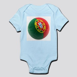 Portugal World Cup Ball Infant Bodysuit