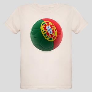 Portugal World Cup Ball Organic Kids T-Shirt