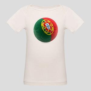 Portugal World Cup Ball Organic Baby T-Shirt