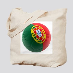 Portugal World Cup Ball Tote Bag