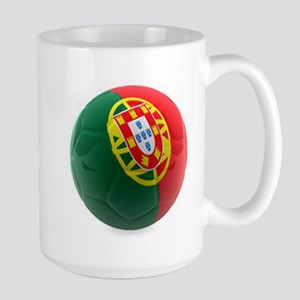 Portugal World Cup Ball Large Mug