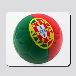 Portugal World Cup Ball Mousepad