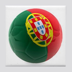Portugal World Cup Ball Tile Coaster