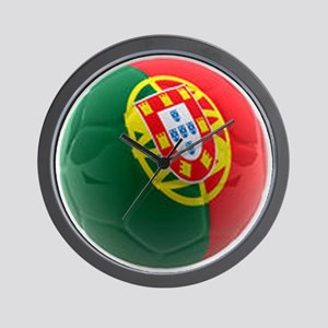 Portugal World Cup Ball Wall Clock