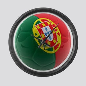Portugal World Cup Ball Large Wall Clock