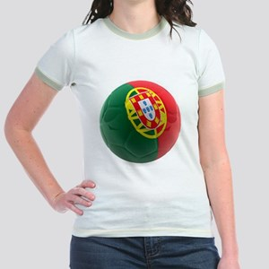 Portugal World Cup Ball Jr. Ringer T-Shirt