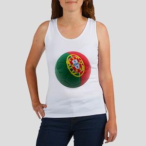Portugal World Cup Ball Women's Tank Top