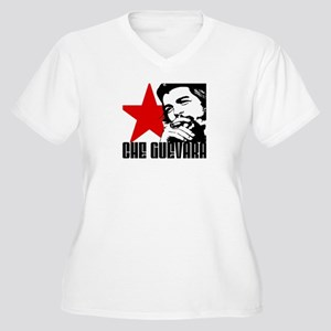 Che Guevara Women's Plus Size V-Neck T-Shirt