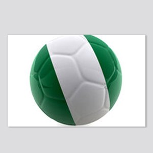 Nigeria World Cup Ball Postcards (Package of 8)