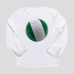 Nigeria World Cup Ball Long Sleeve Infant T-Shirt
