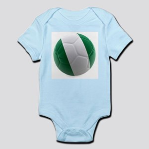 Nigeria World Cup Ball Infant Bodysuit