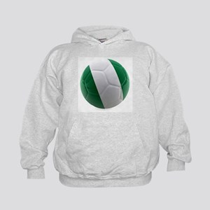 Nigeria World Cup Ball Kids Hoodie