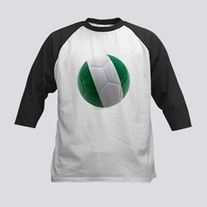 Nigeria World Cup Ball Kids Baseball Jersey