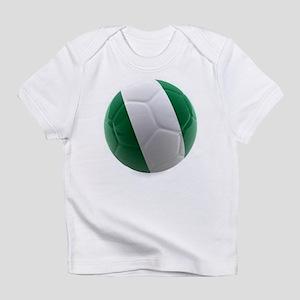 Nigeria World Cup Ball Infant T-Shirt