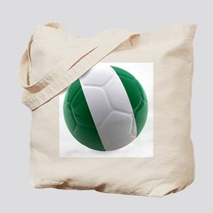Nigeria World Cup Ball Tote Bag