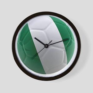 Nigeria World Cup Ball Wall Clock