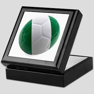 Nigeria World Cup Ball Keepsake Box