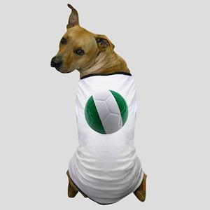 Nigeria World Cup Ball Dog T-Shirt