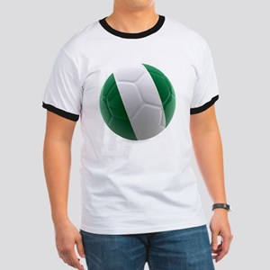 Nigeria World Cup Ball Ringer T