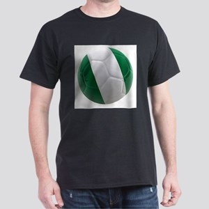 Nigeria World Cup Ball Dark T-Shirt