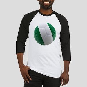 Nigeria World Cup Ball Baseball Jersey