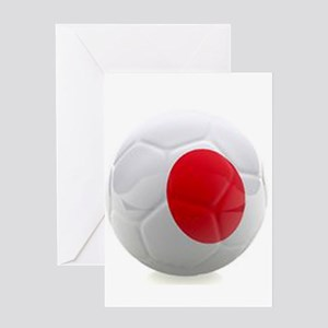 Japan World Cup Ball Greeting Card
